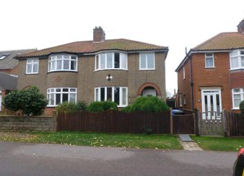 Thumbnail 3 bedroom semi-detached house to rent in Irex Road, Pakefield, Lowestoft