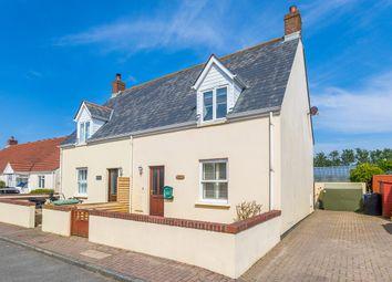 Thumbnail 2 bed semi-detached house for sale in Route De Clos Landais, St. Saviour, Guernsey