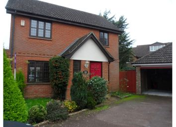 Thumbnail 3 bed detached house for sale in Garden Way, Kings Hill