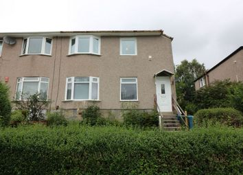 Thumbnail 3 bed flat to rent in Newcroft Drive, Croftfoot, Glasgow