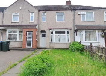 Thumbnail 3 bed terraced house for sale in Warden Road, Radford, Coventry