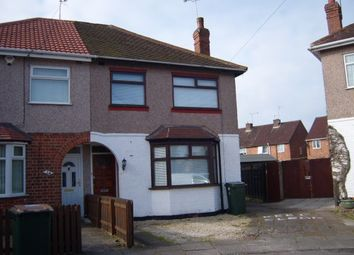 Thumbnail 4 bedroom semi-detached house to rent in Lime Grove, Coventry