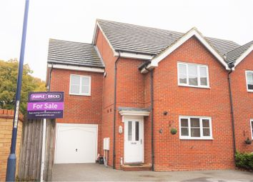 Thumbnail 4 bed semi-detached house for sale in Roman Way, Maidstone