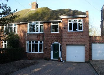 Thumbnail 4 bedroom semi-detached house for sale in Sywell Road, Overstone, Northampton