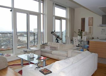 Thumbnail 3 bed flat to rent in Peninsula Apartments, London