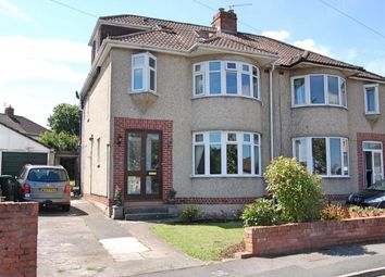 Thumbnail 4 bed semi-detached house for sale in Uplands Road, Saltford, Bristol