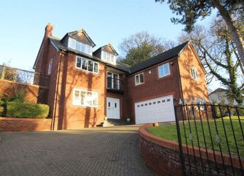 Thumbnail 5 bed detached house for sale in West Road, Prenton, Wirral