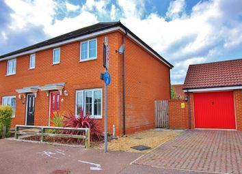 Thumbnail 3 bedroom semi-detached house for sale in Mountbatten Drive, Old Catton, Norwich