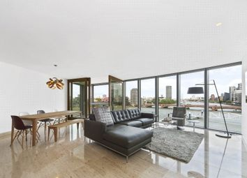 Thumbnail 3 bed flat to rent in St. George Wharf, London