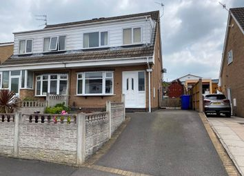 Thumbnail 3 bed semi-detached house for sale in Priestley Drive, Meir Hay, Stoke-On-Trent, Staffordshire