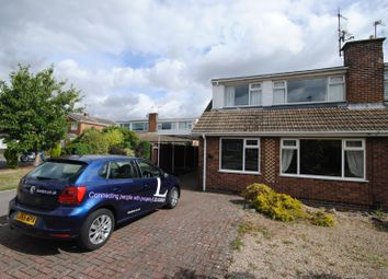 Thumbnail 2 bed bungalow to rent in Dulverton Close, Loughborough
