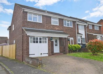 Thumbnail 4 bed end terrace house for sale in Browning Close, Larkfield, Aylesford, Kent