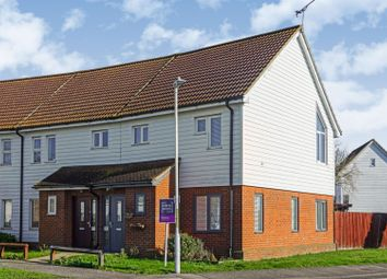 Thumbnail 3 bed end terrace house for sale in Chilham Close, Sheerness