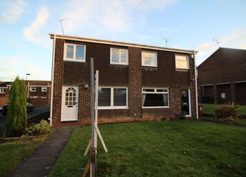 Thumbnail 3 bed semi-detached house to rent in Petherton Court, Newcastle Upon Tyne