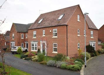 Thumbnail 5 bed detached house for sale in Hobben Crescent, Nottingham