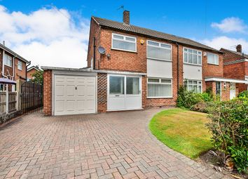 Thumbnail 3 bed semi-detached house for sale in Elmsleigh Road, Cheadle