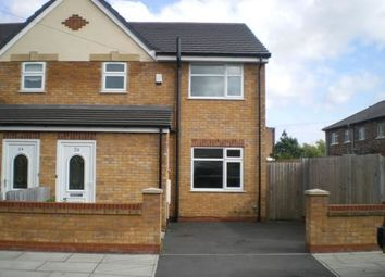 Thumbnail 3 bed semi-detached house to rent in Vincent Road, Litherland, Liverpool