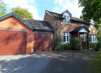 Thumbnail 3 bed detached house for sale in Mucklestone Road, Loggerheads, Market Drayton