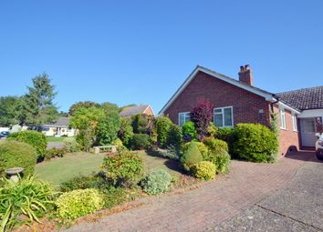 Thumbnail 3 bed detached bungalow for sale in Galley Road, Hundon, Sudbury
