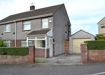Thumbnail 3 bed semi-detached house for sale in Ty-Groes Drive, Margam, Port Talbot, Neath Port Talbot.
