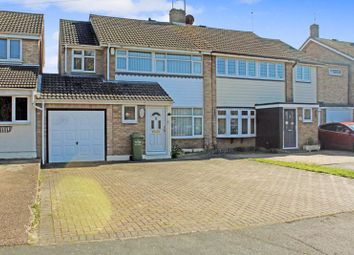 Thumbnail 4 bed semi-detached house for sale in Alicia Avenue, Wickford