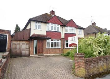 Thumbnail 3 bedroom semi-detached house to rent in Bramblys Drive, Basingstoke