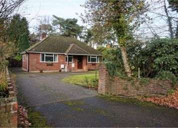 Thumbnail 3 bed detached bungalow to rent in Finchampstead Road, Wokingham
