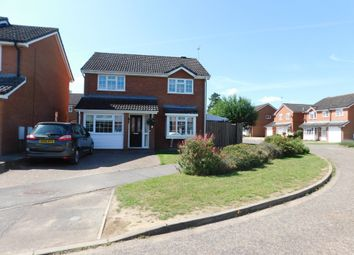 Thumbnail 4 bed detached house for sale in The Brickfields, Stowmarket