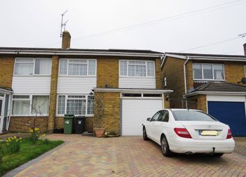 Thumbnail 3 bed semi-detached house for sale in Barton Drive, Hedge End, Southampton