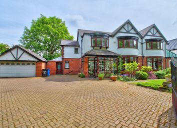 Thumbnail 6 bed detached house for sale in Moss Lane, Sale