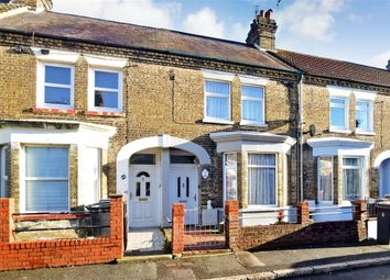 Thumbnail 2 bed terraced house for sale in Millais Road, Dover, Kent