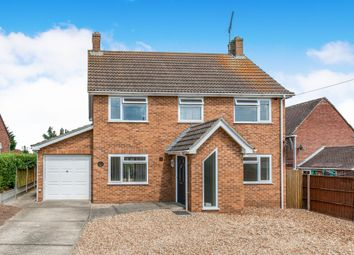 Thumbnail 3 bed detached house for sale in Hall Close, Southery, Downham Market