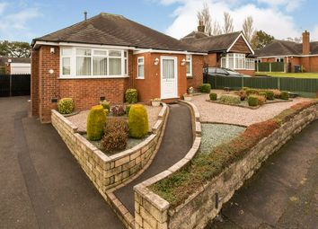 Thumbnail 2 bed bungalow for sale in Conway Road, Knypersley, Stoke-On-Trent, Staffordshire
