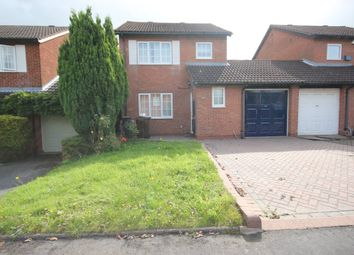 Thumbnail 3 bed link-detached house to rent in Palefield Road, Shirley, Solihull
