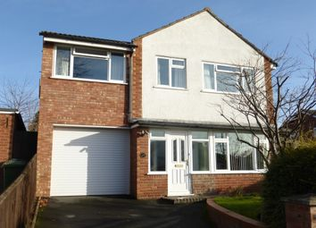 Thumbnail 4 bed detached house for sale in Meadow Drive, Credenhill, Hereford