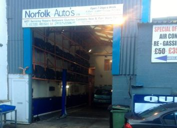 Thumbnail Parking/garage for sale in Unit 1F Guardian Road Industrial Estate, Norwich