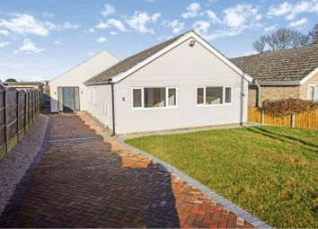Thumbnail 4 bed detached bungalow for sale in Church Road, Skellingthorpe, Lincoln