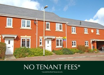 Thumbnail 3 bed terraced house to rent in Haddeo Drive, Exeter