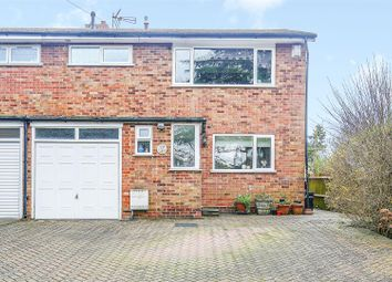 Thumbnail 3 bed semi-detached house for sale in Lusted Hall Lane, Tatsfield, Westerham