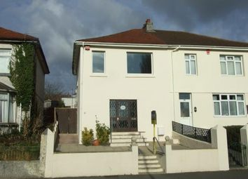 Thumbnail 3 bedroom semi-detached house for sale in St Judes, Plymouth, Devon