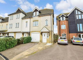 Thumbnail 3 bed town house for sale in Saddlers Mews, Ramsgate, Kent