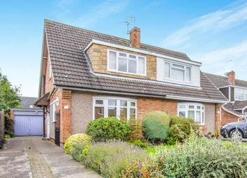 Thumbnail 3 bed semi-detached house for sale in Horwood Close, Wigston, Leicester, Leicestershire