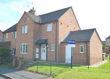 Thumbnail 3 bedroom semi-detached house for sale in Penrose Crescent, Arkwright Town, Chesterfield