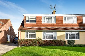 Thumbnail 4 bed semi-detached house for sale in Ruskin Drive, Warminster, Wiltshire