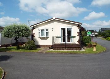 Thumbnail 2 bed mobile/park home for sale in Newton Road, Kingsteignton, Newton Abbot