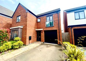Thumbnail 4 bed detached house to rent in Ranger Drive, Wolverhampton