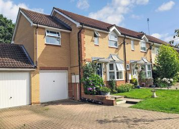 Thumbnail 3 bed end terrace house for sale in Goldfinch Close, Horsham, West Sussex
