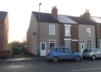 Thumbnail 3 bed end terrace house to rent in Pilsley Road, Danesmoor, Chesterfield