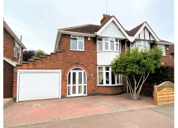 Thumbnail 3 bed semi-detached house for sale in Brading Road, Off Groby Road
