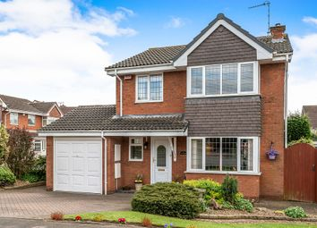 Thumbnail 4 bed detached house for sale in Beverley Close, Penkridge, Stafford